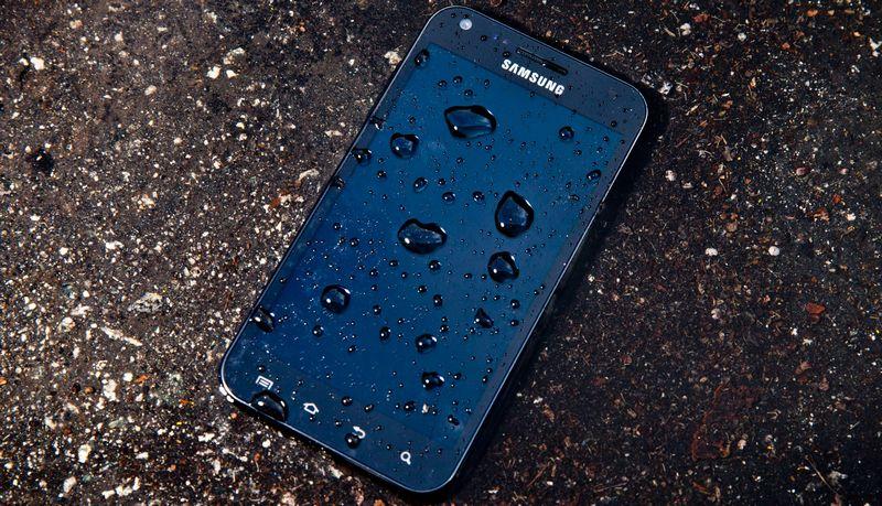 smartphone eau