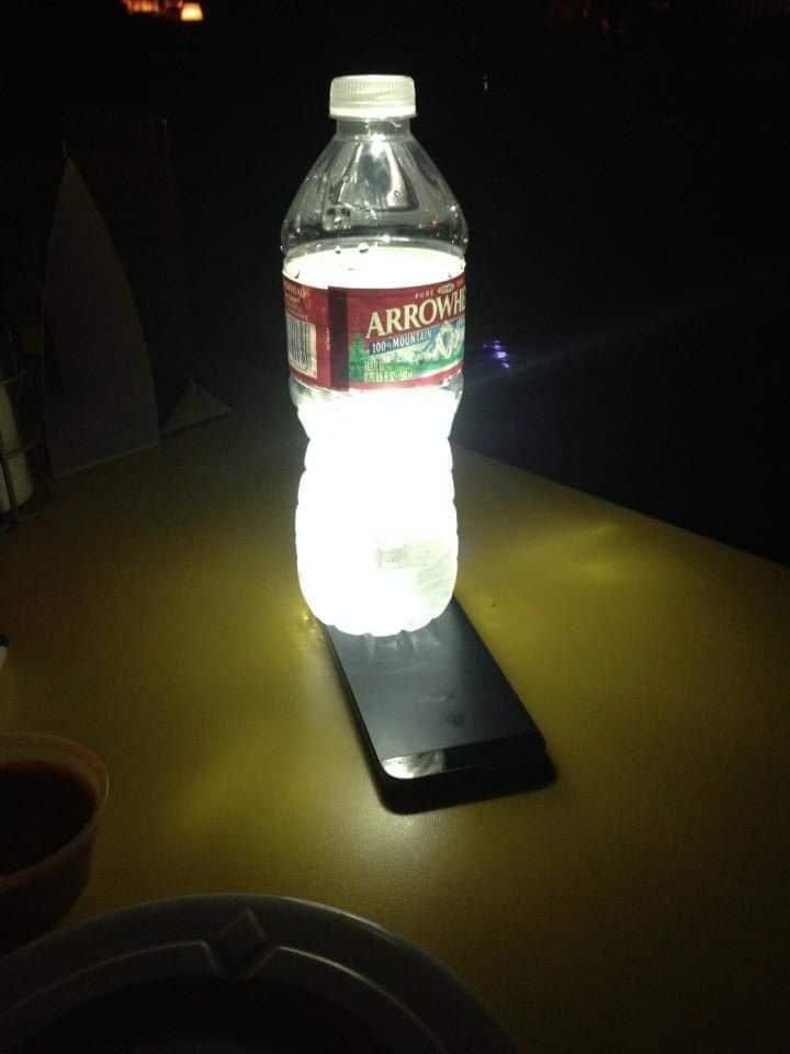 Smartphone lampe