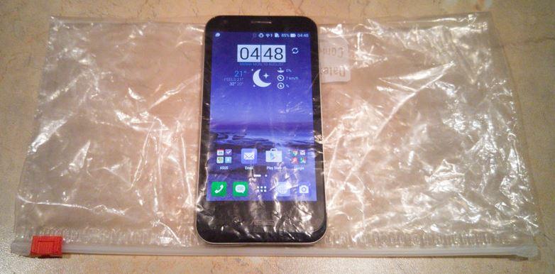 Smartphone ziploc