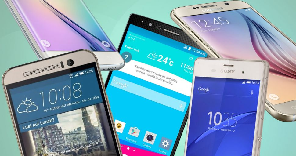 smartphones android plus populaires