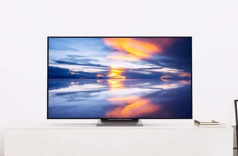 ces 2016 sony pr sente son impressionnante tv 4k hdr sous android tv. Black Bedroom Furniture Sets. Home Design Ideas