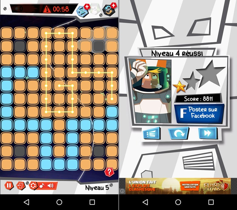 space dash party puzzle game