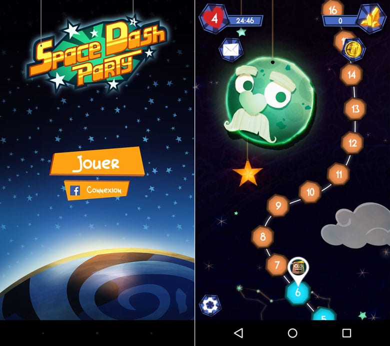 space dash party