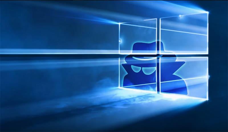 windows 10 microsoft espionne