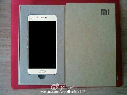 Xiaomi Mi5 packaging officiel