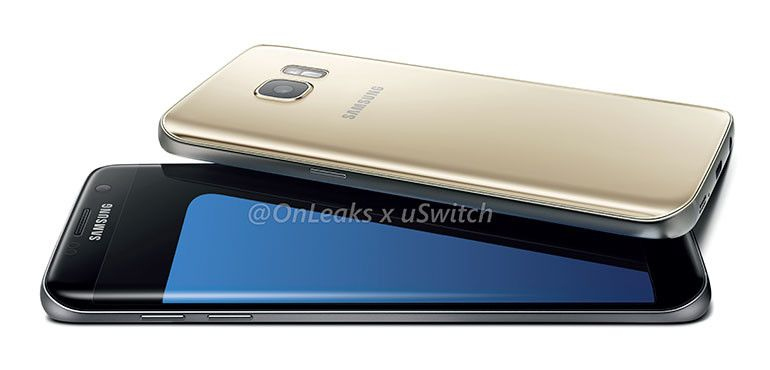 Galaxy S7 Edge rendus