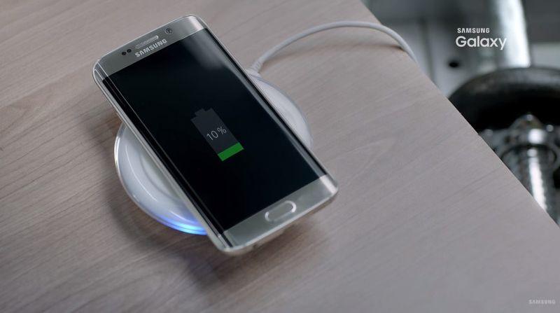 Le Galaxy S7 reprend le chargement sans fil