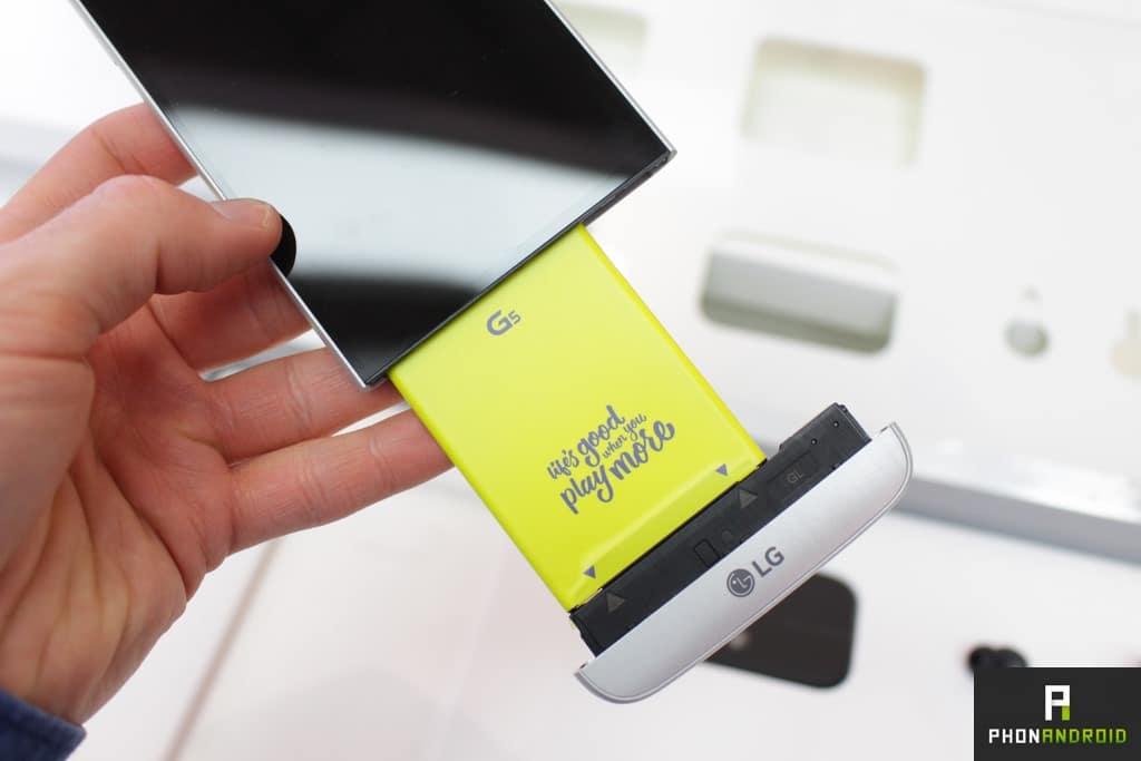 LG G5 batterie
