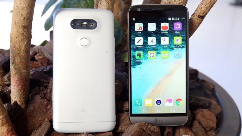 LG G5 comparatif