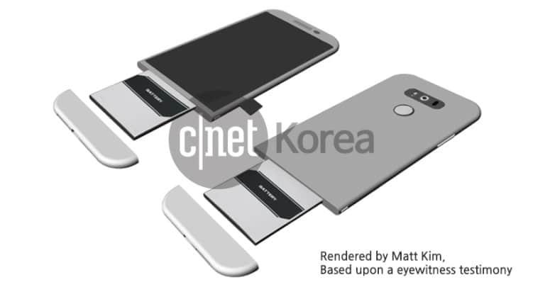 LG G5 design amovible