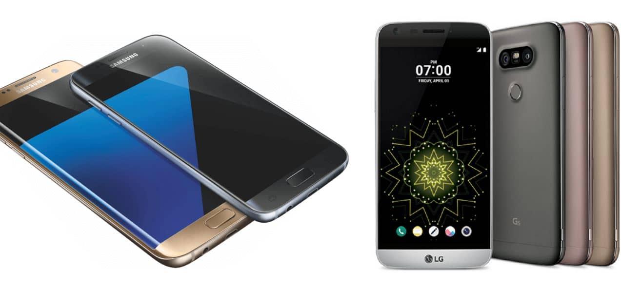 LG G5 Galaxy S7 sondage