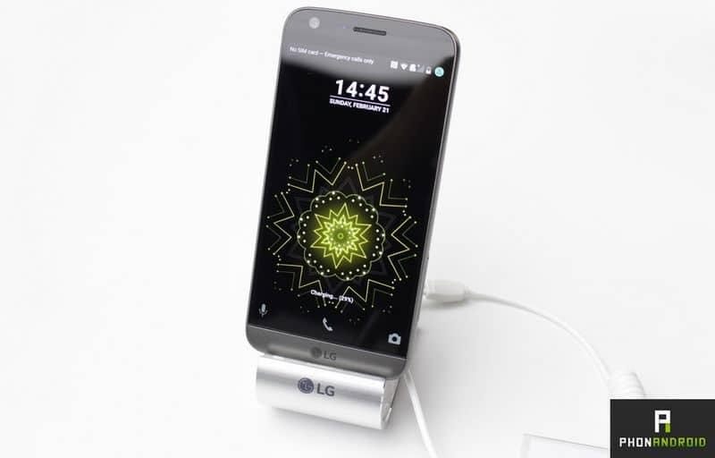 le lg g5 vole la place de meilleur smartphone du mwc 2016 au galaxy s7 phonandroid. Black Bedroom Furniture Sets. Home Design Ideas