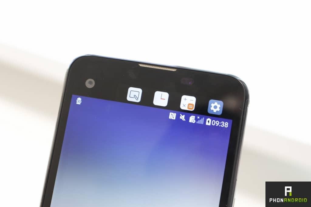 LG X Screen second écran