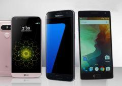 OnePlus2 vs galaxy S7 lg g5