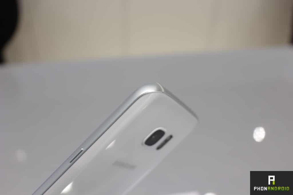 Galaxy S7 Blanc côté