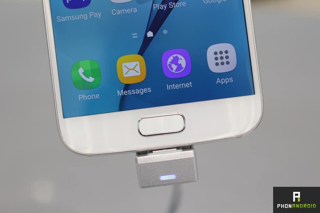 Galaxy S7 tiroir appli