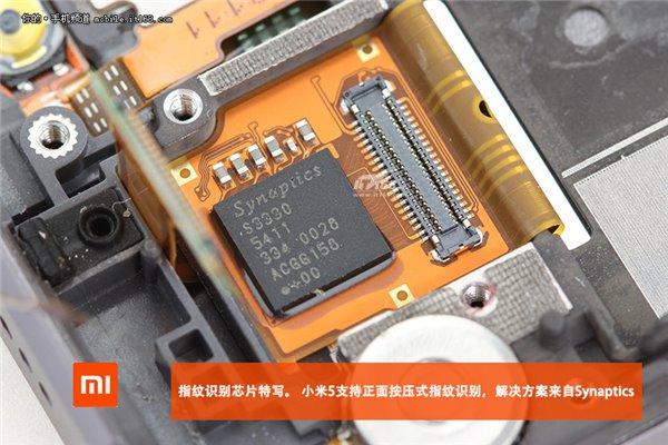 Xiaomi-Mi-5-demontage-puce