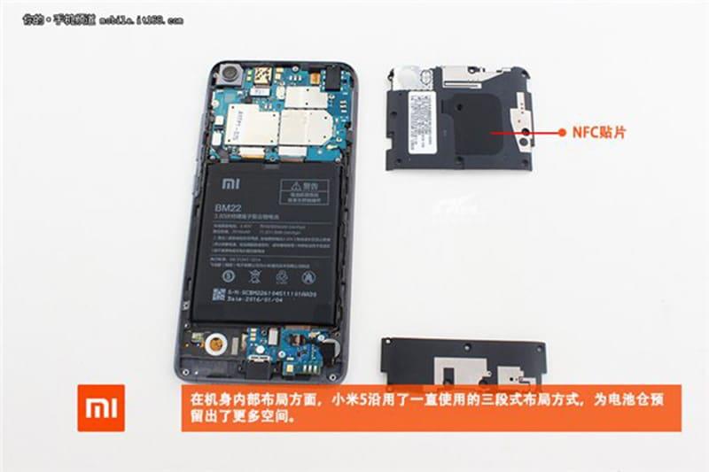 Xiaomi-Mi-5-demontage-vue-globale