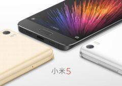 Xiaomi Mi 5 officiel couleurs
