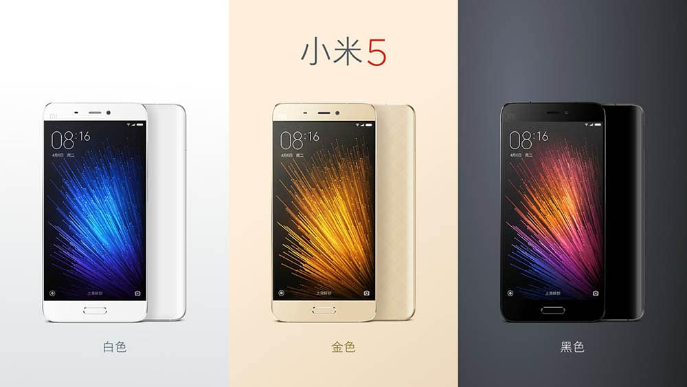 Xiaomi Mi5