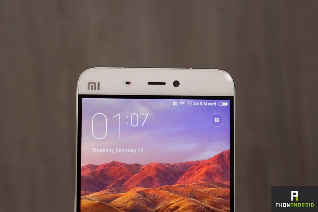Xiaomi Mi5 capteur avant