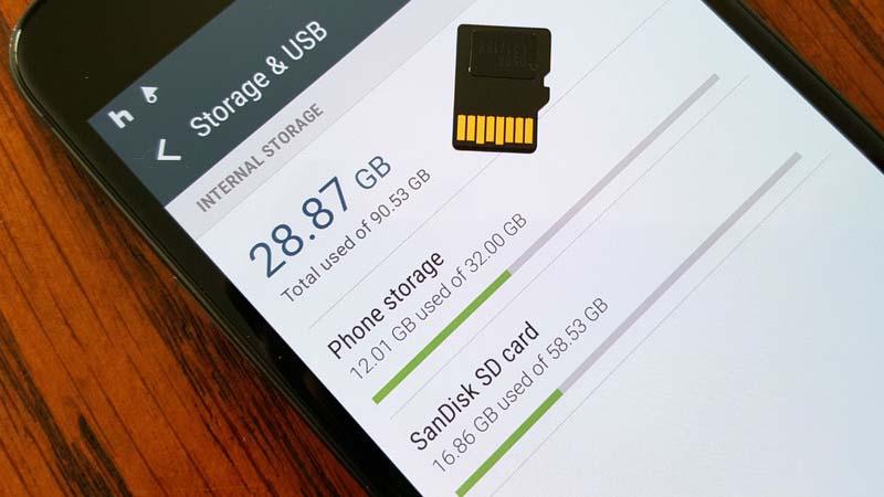 Galaxy S7 / S7 Edge : comment fusionner la mémoire interne et la carte SD sans root