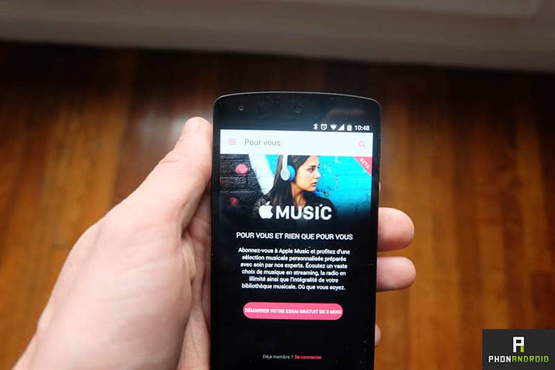 apple music android SD