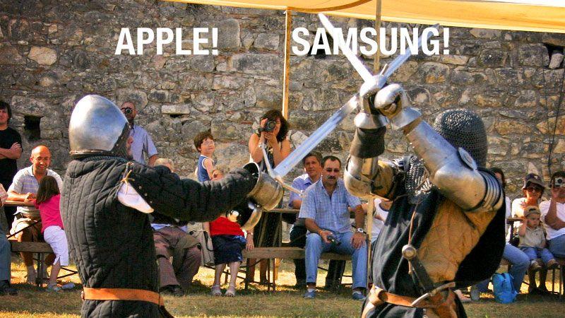 Guerre des brevets : Samsung gagne son appel au grand dam d'Apple !