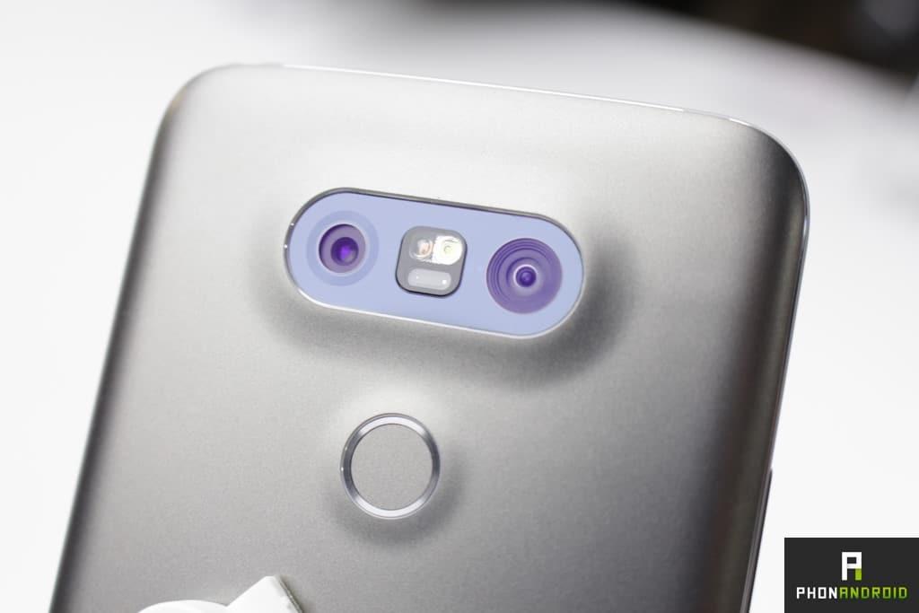 double capteur photo LG G5