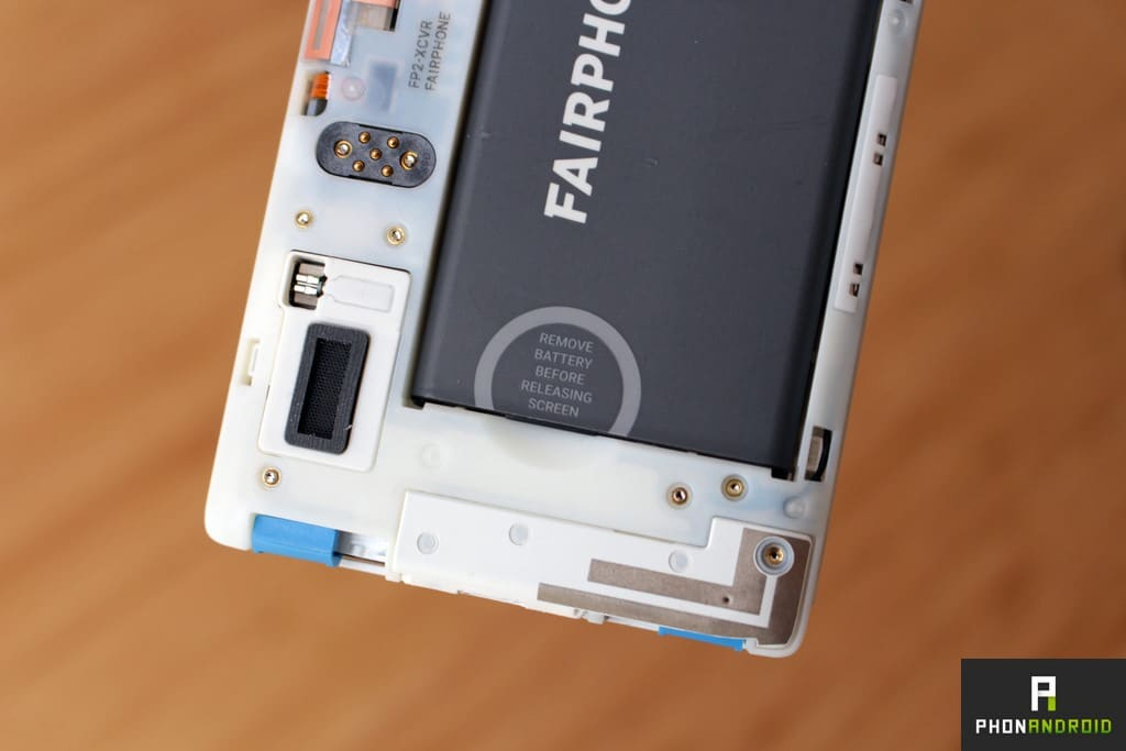 fairphone 2 haut parleur