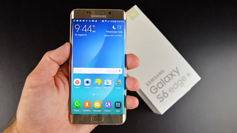 Galaxy S6 Edge+ Android Marshmallow