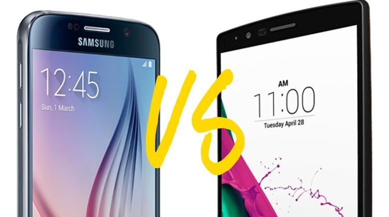 LG G5 face au Galaxy S7