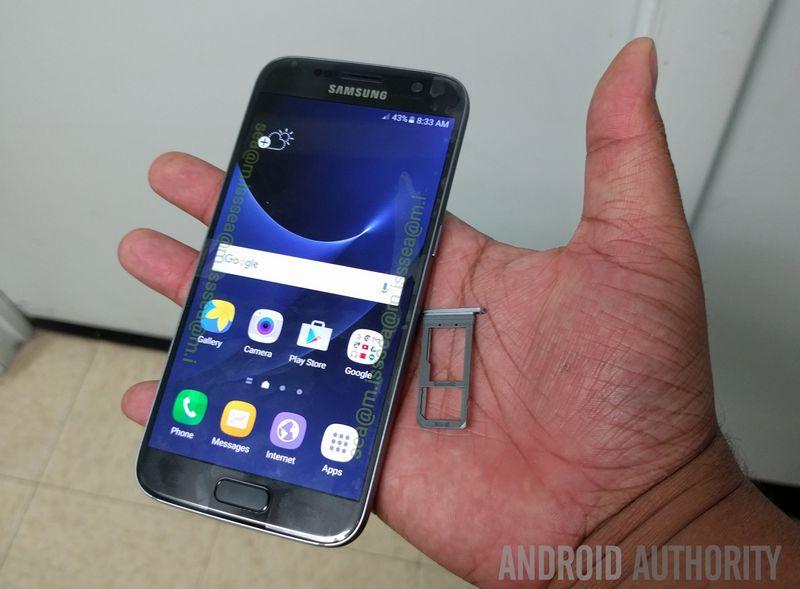 Galaxy S7 micro SD