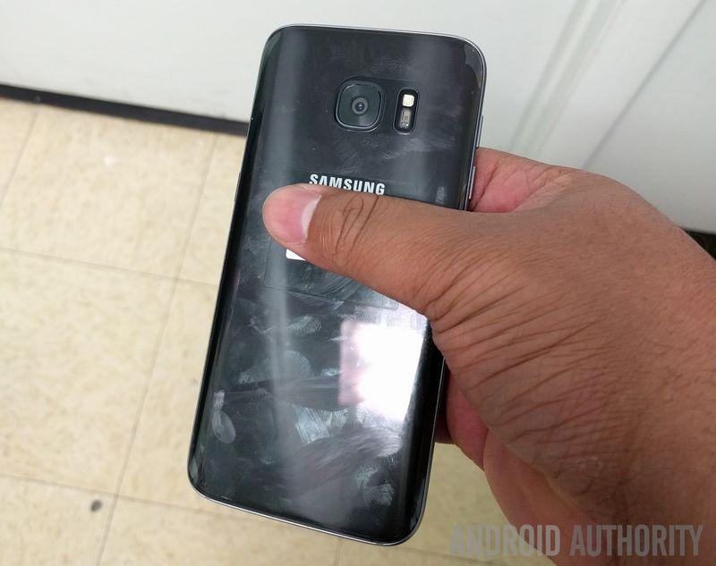 Galaxy S7 dos incurve