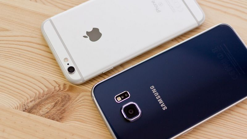 Galaxy S7 iPhone 6S
