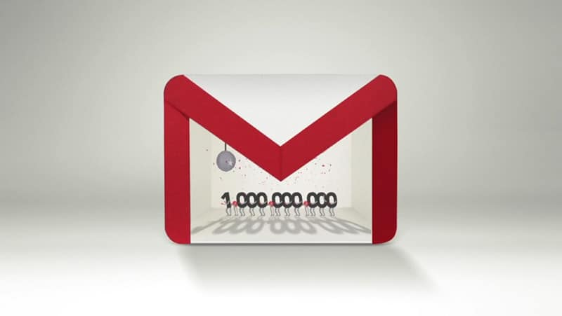 gmail milliard google
