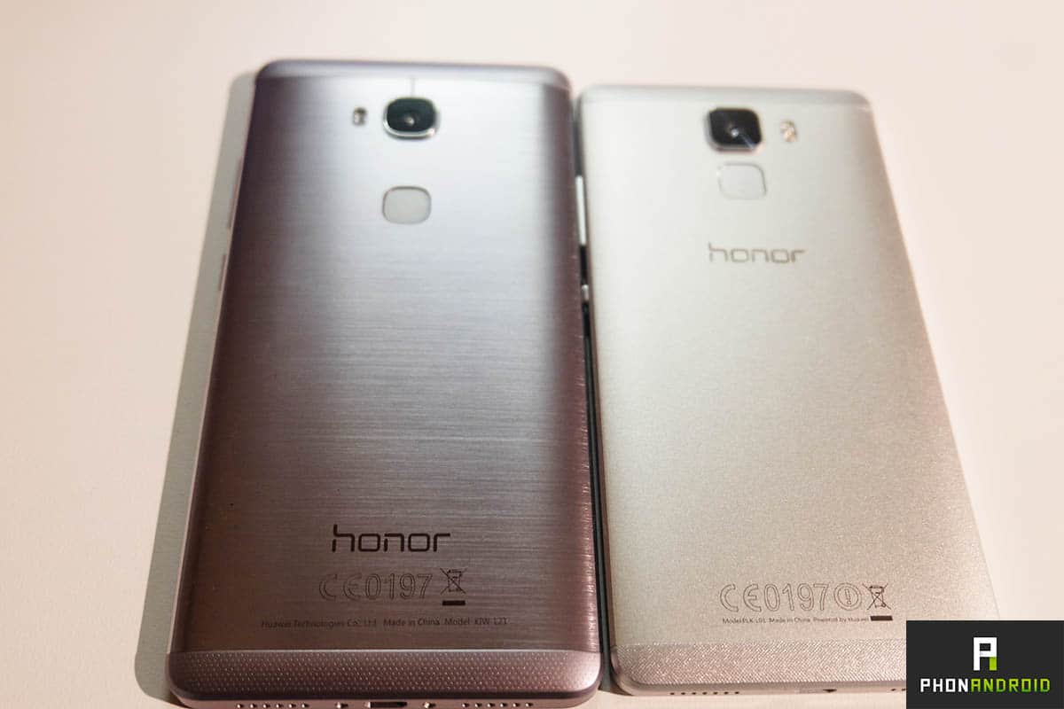 Honor 5x prise en main du smartphone r solument design for Photo ecran honor 7