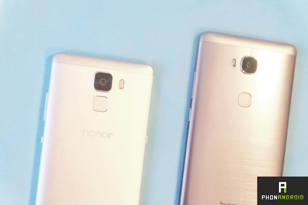 honor 7 vs honor 5x prise main