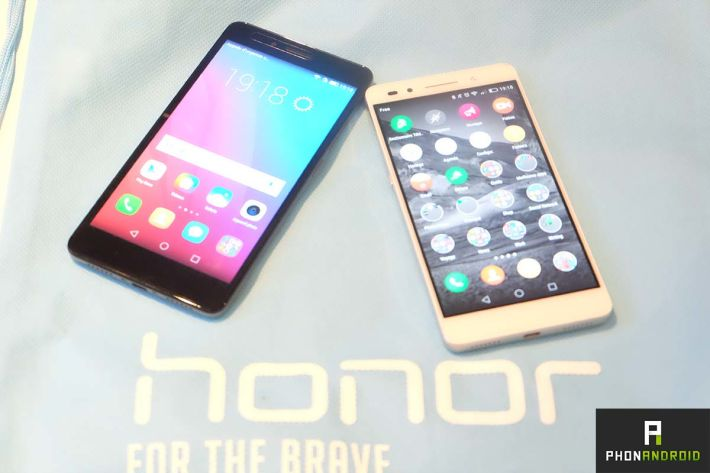 Comment honor a surpris tout le monde avec son honor 7 for Photo ecran honor 7