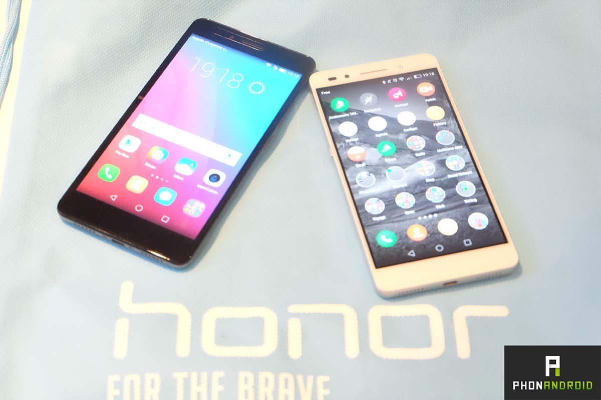 honor 7 vs honor 5x ecran