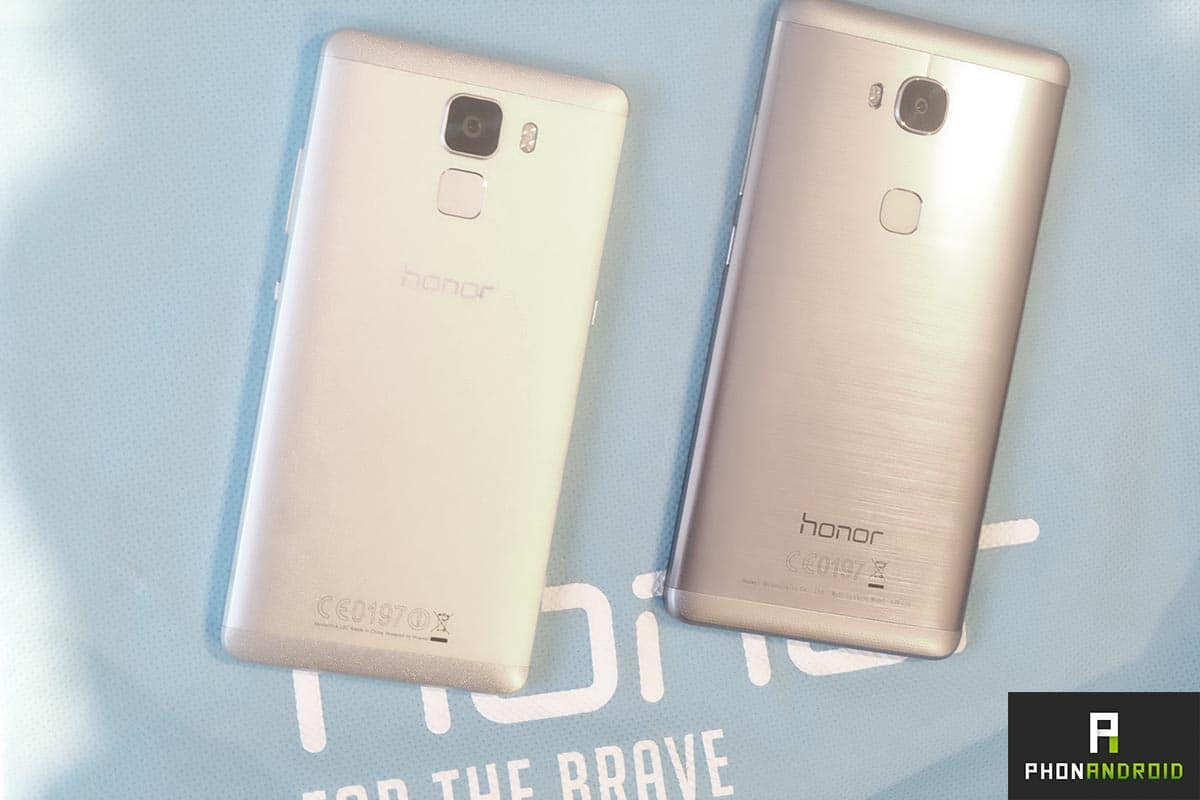 honor 7 vs honor 5x design
