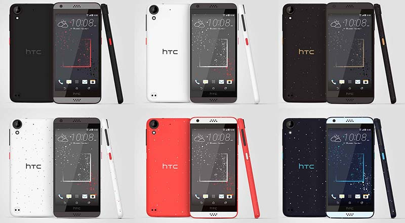 Toutes les couleurs du HTC A16