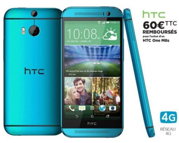 htc one m8s bleu