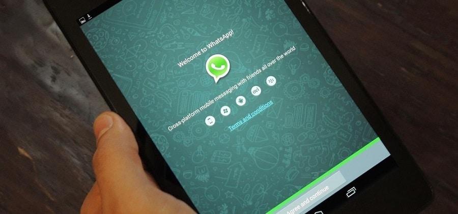 installer et utiliser whatsapp sur tablette android