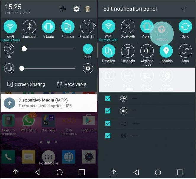 LG G5 interface