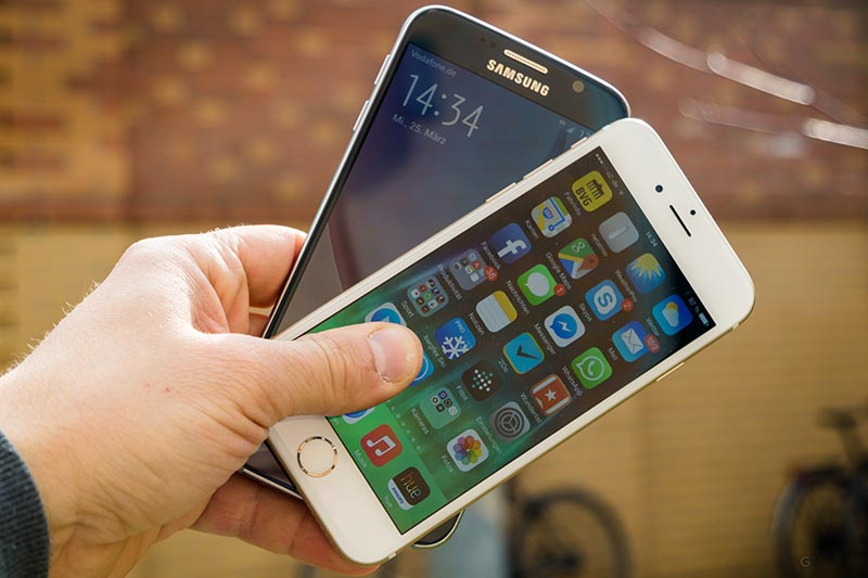 iphone galaxy s autant poids