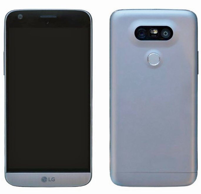 Apparence du LG G5