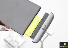 LG G5 slot batterie