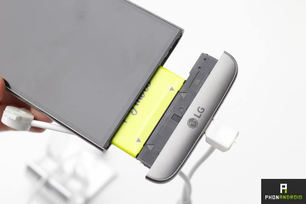 Batterie amovible du LG G5