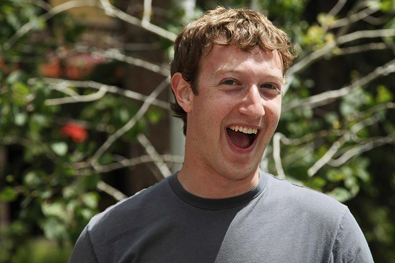Le PDG de Facebook